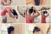 Hair Ways / Ways of Styling, Taming, or Braiding Hair