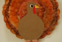 Fall/Thanksgiving crafts Pre-k / by Tammie B