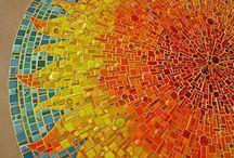 Mosaic ideas / Ideas, patterns, colours