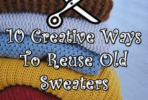 old sweaters re use