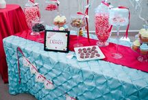 Sweets and Food Buffet Ideas