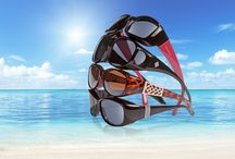 Solar Shield fits over sunglasses for fall