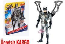 Justice League 30cm Işıklı ve Sesli Batman