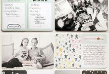 Art journaling / La vie sur papier...