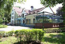 Siemianowice Śląskie - Pałac Rheinbabenów / Pałac Rheinbabenów w Siemianowicach Śląskich - Michałkowicach. Początki jego historii sięgają wieku XVI gdy był własnością rodziny Mieroszewskich. W XVII wieku Michałkowice przeszły pod władanie rodu Schwellengröbel, a następnie Rheinbabenów. Ród Rheinbabenów zmienił styl architektoniczny pałacu na neogotycki. Obecnie mieści się w nim oddział Siemanowickiego Centrum Kultury.