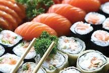 """Comida Japonesa / Más fácil de lo que parece, sólo se necesita: Tiempo y paciencia mezclado con las ganas de meter """"boca"""" al mundo japonés!"""