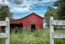 Barns, bridges and fences
