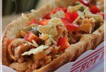 "El Senor ""Hotdog à la façon nachos"""