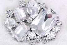 Perfectly Pinned - Rhinestone, Crystal, Gemstone Brooches