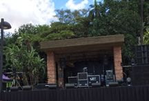 GPI Mango Groove Beach Party / JBL Vertec sound and Lighting Event