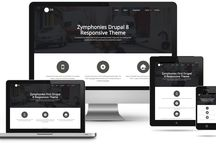Drupal 8 Theme / Drupal 8 free and premium responsive themes.
