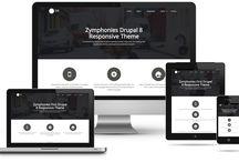 Drupal 8 Theme / Drupal 8 free and premium responsive themes.