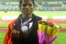 Dutee Chand Won Bronze Medal