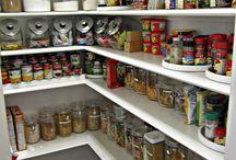 Organização na cozinha