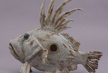 Fish Sculptures