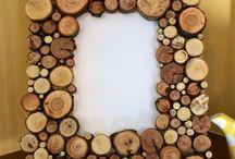 Fából dekoráció