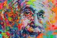 Albert Einstein / 14. March 1879 - 18. April 1955
