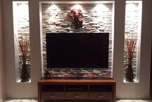 tv muur