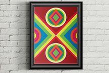 Quadros / Pintura Digital / Arte / Design, Direção de arte, ilustração, quadros, pintura digital