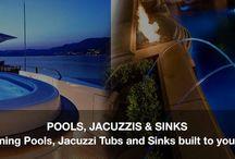Custom Fiberglass Swimming Pools and Jacuzzi