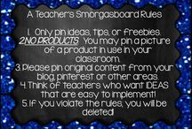 A Teachers Smorgasboard / This board is a place for ideas, tips, and freebies to help your classroom!  Here you will find fun, engaging, cheap, free, and easy to implement ideas, projects and resources!