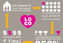 Shop Small | Shop Local / Resources, quotes, and facts about the benefits of supporting our small towns by shopping small and local.