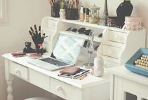 Dressing table inspiraton / Pretty dressing tables.