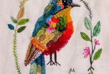 ***pássaros*** / ilustrações e fotos de pássaros