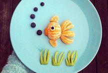 Frutta speciale per le bambine