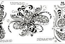 Zentangle Art / Everything Zentangle / by Ania Kozlowska-Archer