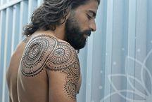 mandala tatouage homme