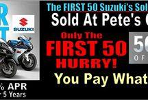 Suzuki Motorcycles, ATV and Scooter's / Suzuki
