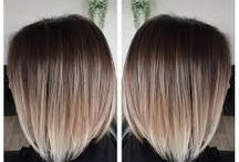 Ombre for short hair style