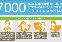 Infographie sur la Seine-et-Marne / infographie sur la Seine-et-Marne (département 77) : économie, tourisme, emploi...