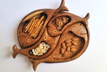 Amazing wooden handmade plates and similar