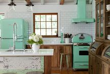 Vintage/Retro Kitchen