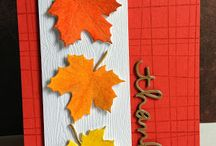 Fall diy cards