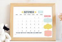 Command Center / Command center, family organization and family calendar ideas.