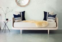 Furniture | Daybed + Benches