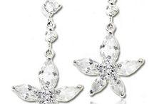 Bijuterii mireasa / Bridal jewelry / Bijuterii mireasa cu Swarovski elements si perle