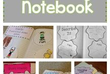 1st grade reading notebook