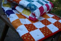 Learn how to tie a quilt with this fun tutorial that makes your scrap quilt pieces look very snappy and playful.