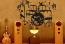 Music Decal / Love notes and sweet music Let the show begin.