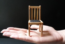 I Love Chairs                            (especially MINI-ature-chairs)