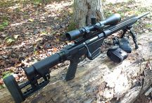 Fun with guns. Ruger precision rifle.