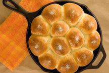 Breads, rolls, scones, biscotti,  & muffins