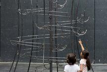 """Jeppe Hein """"Distance"""" / Exposition présentée du 6 juin au 5 octobre 2014 au LiFE, base des sous-marins de Saint-Nazaire, Alvéole 14   L'exposition Distance s'inscrit dans la programmation hors les murs du Grand Café, centre d'art contemporain, et est produite par le LiFE"""