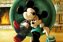Mickey y Minnie / by Elena Rodriguez Bonilla