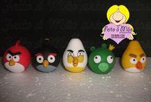 Angry Birds / Encomendas e orçamentos pelos fones: (53) 8402.7700 ou (53) 3273.2329 c/Beth