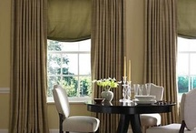 Dining room drapes / by Jane Frederick